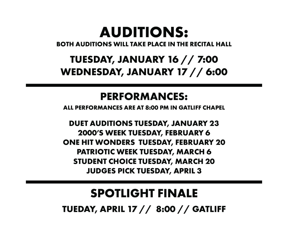 AUDITION TIMES-02-02